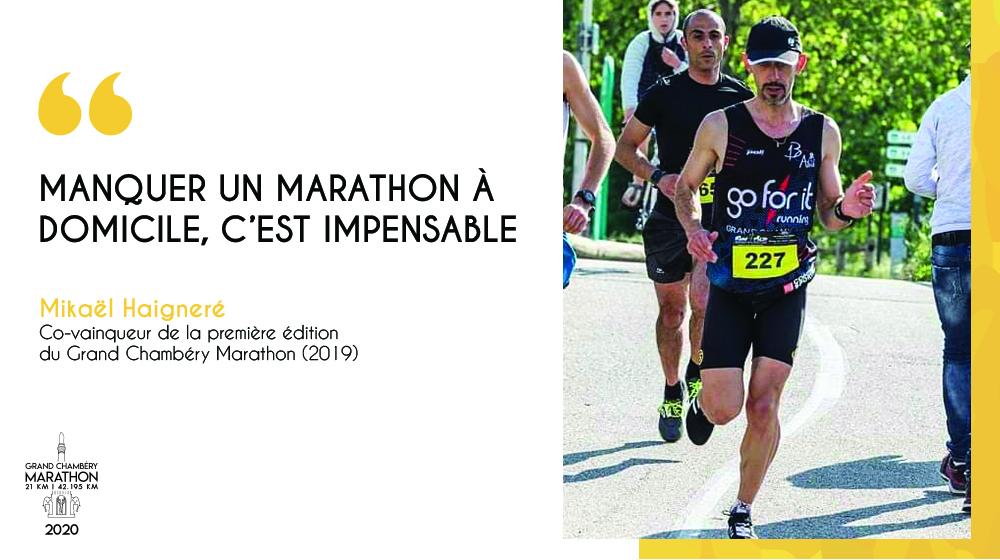 En attendant 2020, la parole à Mika notre co-vainqueur du marathon 2019 !