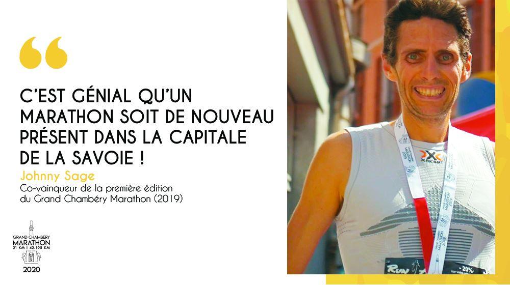 Interview de Johnny, co-vainqueur de la première édition du Marathon de Chambéry