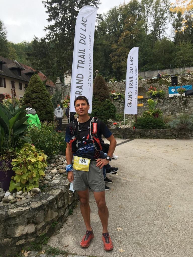 « Je n'ai jamais autant subi » Jean-Baptiste, Grand Trail du Lac 2020