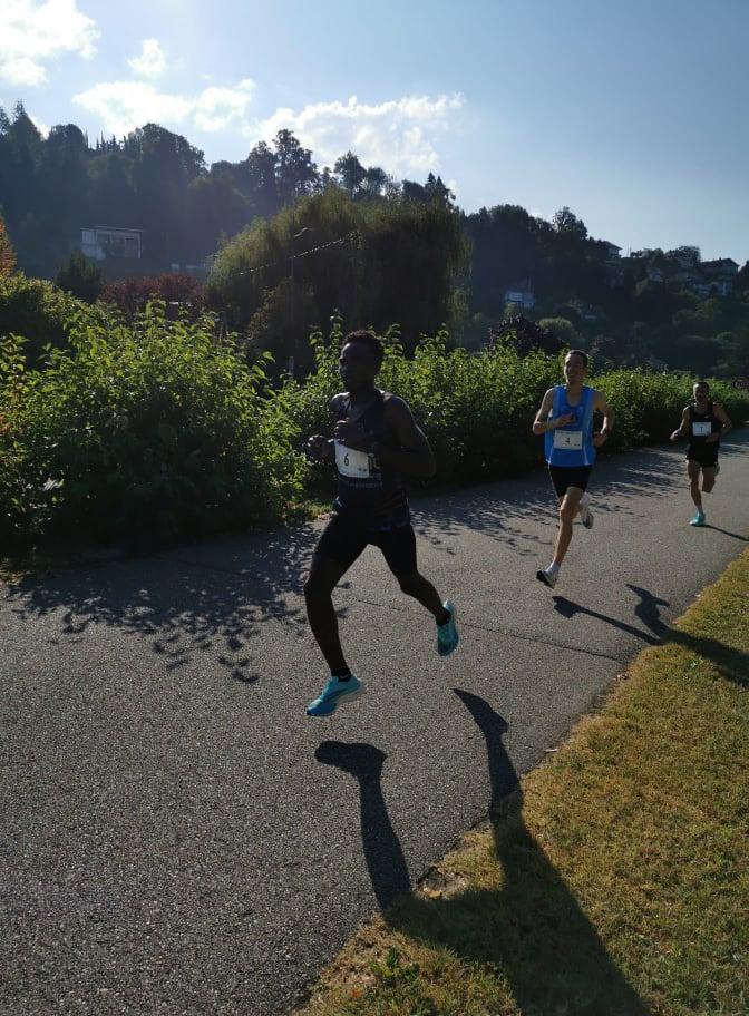 Une belle équipe sur le 10km d'Aix-les-Bains